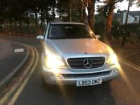 MERCEDES-BENZ ML350 3.7 TIPTRONIC AUTOMATIC PETROL 7 SEATER WITH FULL SERVICE HISTROY AND MOT