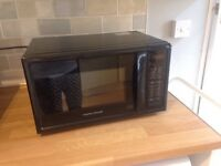 morphy richards microwave oven. 20 litre 800w as new. £30