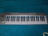 Behringer UMX49 U-Control MIDI Keyboard and stand