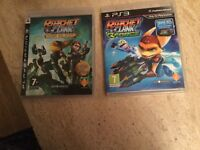 2 Ratchet & Clank games for PS 3 Console