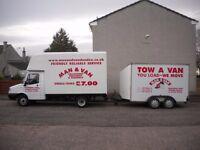 REMOVALS,MAN & VAN, VAN HIRE ,Dundee,