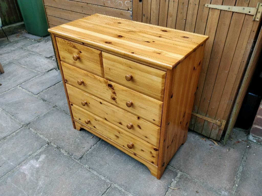 50 pine chest of drawers farmhouse shabby chic project   in Exeter ...