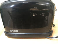 Used Russell Hobbs Black double toaster (Model 14361)