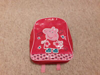 PEPPA PIG CHILDS BACKPACK & COLOURING PACK