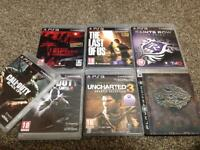 Ps3 super slim 500gb 8 games