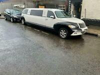 2005 PT Cruiser Limousine 3.2 Automatic White very good condition