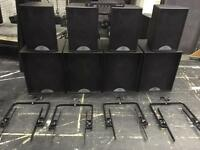 Martin audio F12, S18, Fly frames, M3