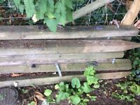 FENCE POSTS 4 x 3 stake posts. £16
