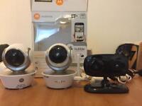 Motorola Home WiFi Surveillance Cameras (3)