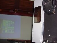 for sale lcd tv projector panasonic full working ready to go