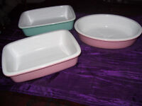 Jane Asher 3 x small one-person casserole dishes