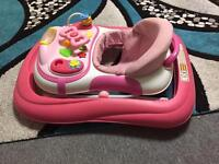 Folding walker for baby