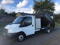 Ford Transit 100 Tipper with tail lift