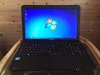 "Toshiba Satellite Pro c580 - Intel core i5 - 500Gb Storage - Windows 7 - 15.6"" Hd Screen Laptop"