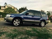 2004 Subaru Forester Auto LONG REGO Logbook honda crv toyota rav4 Meadowbank Ryde Area Preview