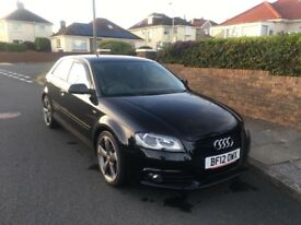 2012 AUDI A3 TDI S LINE BLACK EDITION SPECIAL EDITION