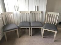 Next Hartford dining chairs x 4