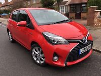 TOYOTA YARIS 2015 65 PLATE HYBRID EXCEL MODEL 1 OWNER NOT VW GOLF, POLO OR AURIS