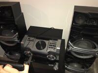 Panasonic hi-fi system