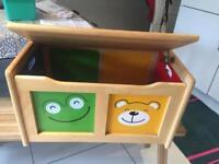 John Lewis Wooden Toy Box