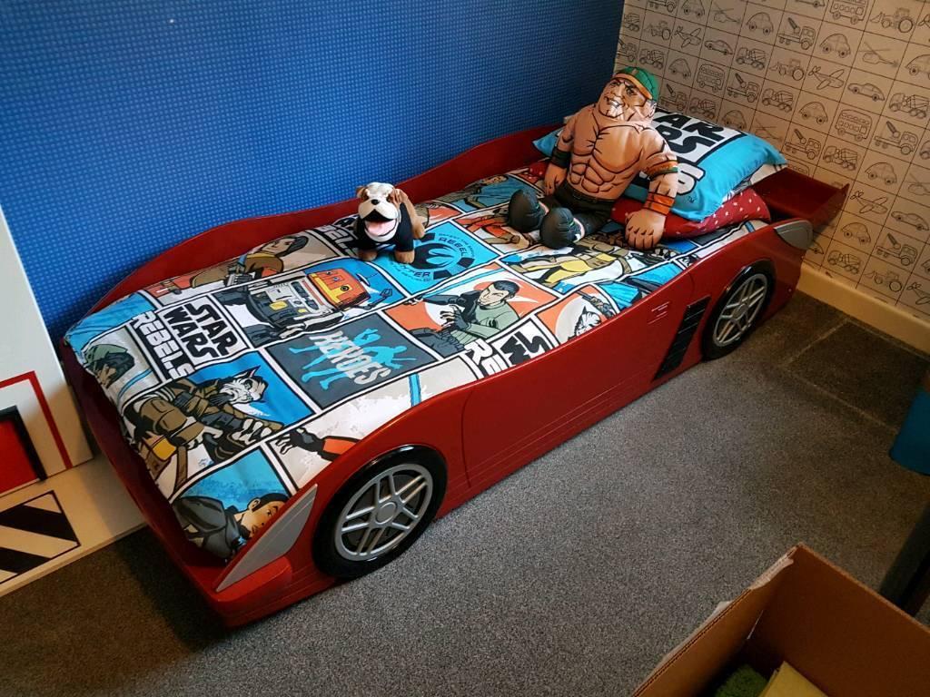 Kids Car Bed