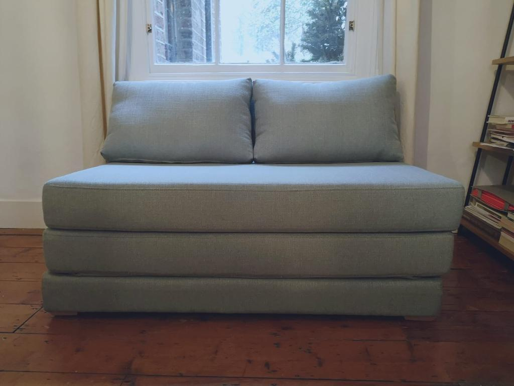 John Lewis Kip Small Double Sofa Bed Barely Used In