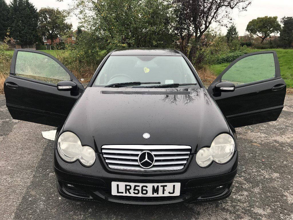 Superb Value 2006 56 Mercedes 220cdi Sports Coupe DIESEL Automatic 107000 Mls HPI Clear Sept 18 MOT