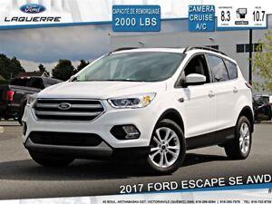 2017 Ford Escape SE**AWD*CAMERA*CRUISE*A/C*SIÈGES CHAUFFANTS**
