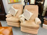 REDUCED TO CLEAR! Beautiful pair of Parker Knoll armchairs in lovely clean condition