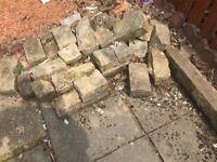 Sandstone blocks (various sizes)