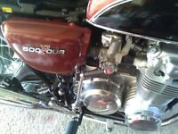 Honda cb500 four 1973 UK model no import lovely bike