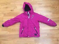 Polarn O Pyret Fleece Lines jacket - Size 9-10 years