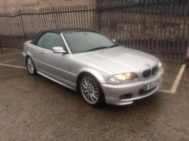 2003 BMW 330ci m-sport convertible ***low miles***