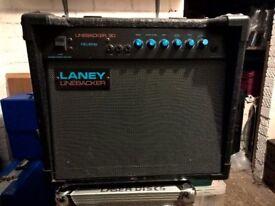 LANEY Linebacker 30 Guitar Amplifier Combo + Integral Speaker