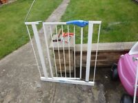 for sale is a stair gate