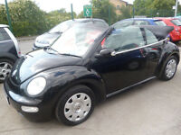 Volkswagen BEETLE Cabriolet,1.6 petrol 2 door soft top,nice clean tidy car,runs and drives well