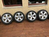18 Inch Vauxhall Mokka Alloys and Snow Tyres