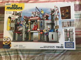 Brand New Minions Mega Bloks Castle