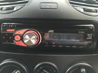 JVC car stereo KD-R331 aux and bluetooth option