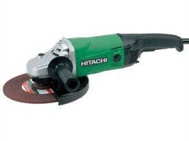 """Hitachi 230mm 9"""" Angle Grinder 110V"""