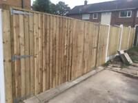 Driveway gate wooden gate