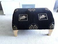 Parker Knoll contemporary foot stool.