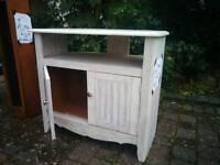 Tv / Corner Cabinet Solid Pine