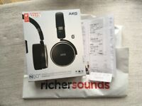 AKG N60NC Wireless Noise Cancelling On Ear Headphones *As New*