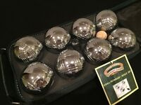 8 Piece Steel French Boules Set