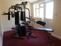 Multisports MGVS Dual Stack Multi-Gym - Chest Press, Pec Deck, Squat, High/Low Pulley, Leg Curl, VKR