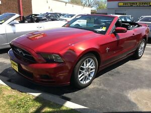 2014 Ford Mustang V6 Premium, Automatic, Convertible, Only 15, 0