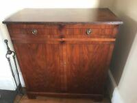 Vintage solid wood TV cabinet