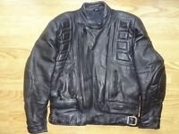 Belstaff Classic Retro Style Leather Jacket in Cosby Leicestershire.