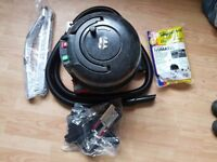 used henry Vacuum Cleaner 2 speed new 3 Metre Hose new Brushes new Rods Tools